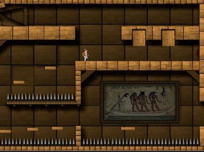 game - Indiana Jones and the Pharaoh's gold