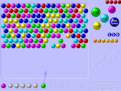 bubble shooter puzzle games