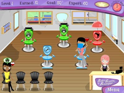 game - Belle's beauty boutique