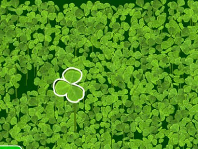 game - Lucky four-leaf clover