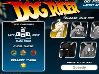 game - Ultimate Dog Racer