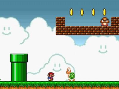 لعبة ماريو القديمة سوبر ماريو Super Mario