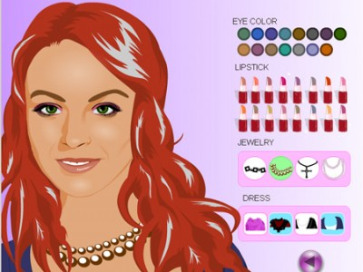 barbie girl games makeup