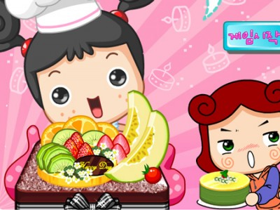 Fruit Cake decoration. Games online.