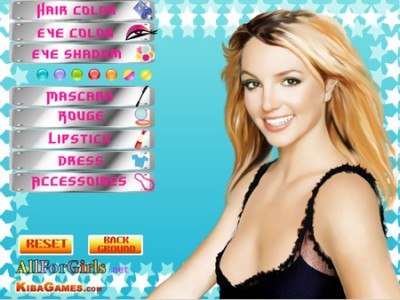 game - Britney Spears Make Up