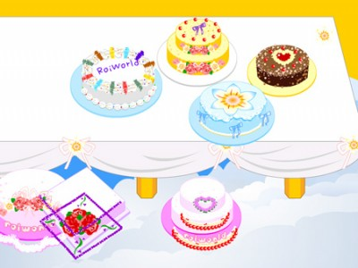 HD wallpapers wedding cake games online