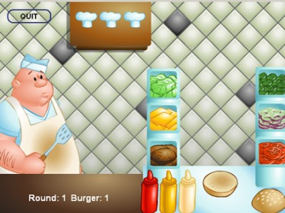 game - Burger Builder