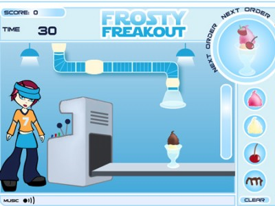 game - Frosty Freakout
