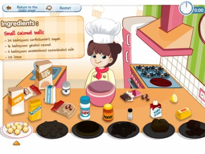 game - Happy Cooking