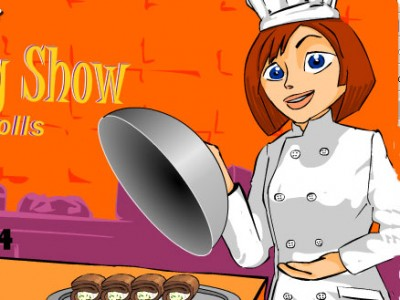 game - Cooking Show – Delicious breadrolls