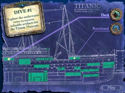 game - Hidden Expedition Titanic
