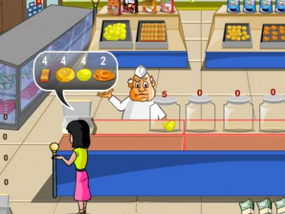 game - Indian sweet shop