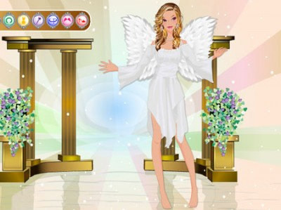 game - Beautiful Angel Dress Up