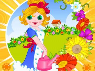 garden flower games