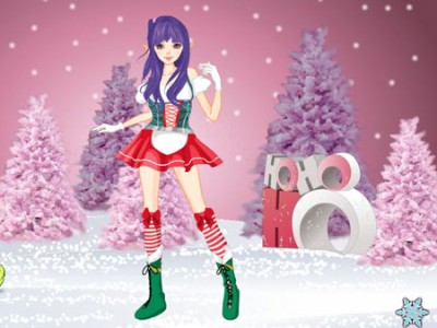 game - Christmas Elf Dress Up