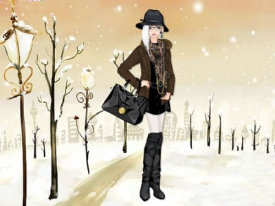 game - Winter Style Fashion Dress Up
