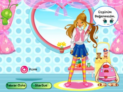 Games - Make up for the Winx club