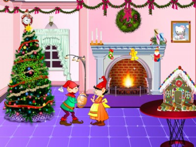 Christmas Decoration. Games online.