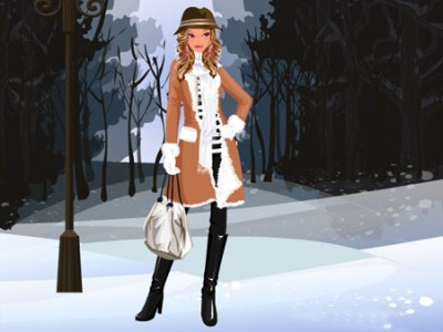 game - A Fashionable Winter Dress Up