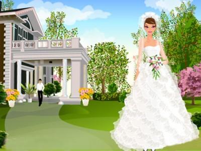 My Dream Wedding Dress Up. Games online.