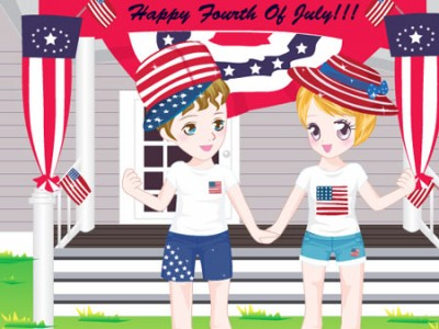 game - Fourth Of July Dress Up