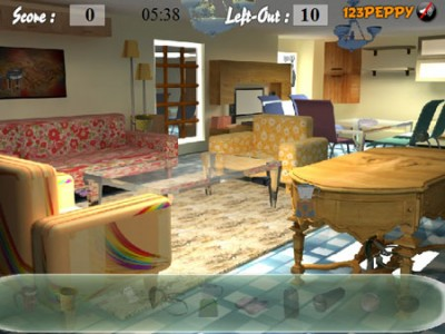game - Find Objects In Furniture Shop