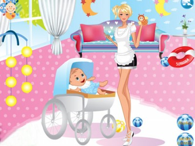 game - The babysitter Dress Up
