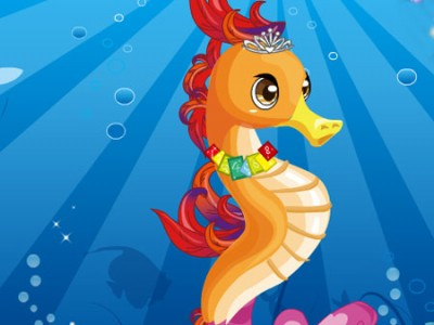 Magic Seahorse. Games online.