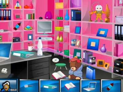 game - Hidden Objects Office