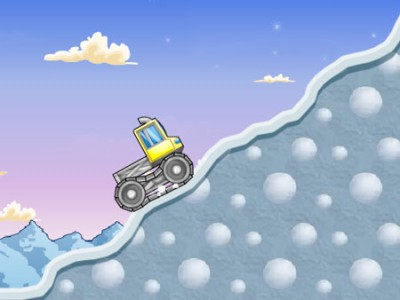 game - Snow Truck 2