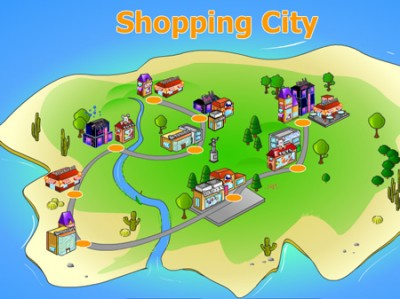 game - Shopping City