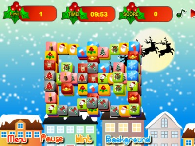 game - Christmas Mahjong