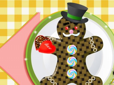 game - Cute Gingerbread Man