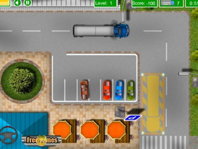 game - Truck parking