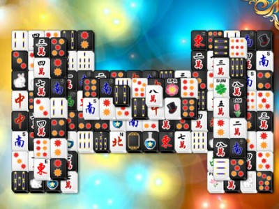 game - Black and White Mahjong 2