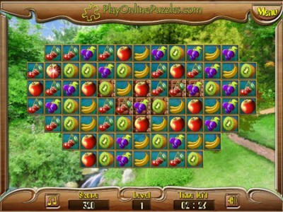 Fruit Match Puzzle. Games online.