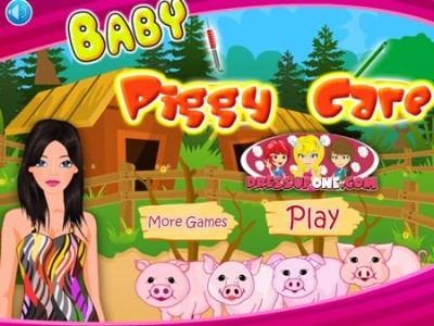 game - Baby Piggy Care