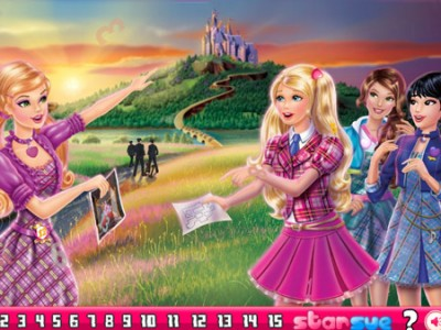 game - Barbie Princess School