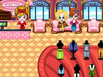 game - Dress Up Shop Autumn Collection