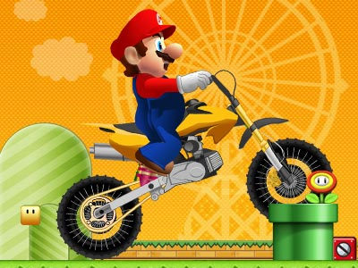 game - Mario Fun Ride