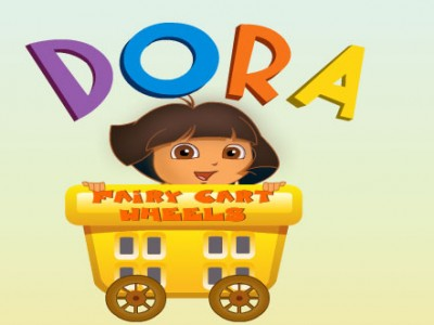 game - Dora Fairy Cart Wheels