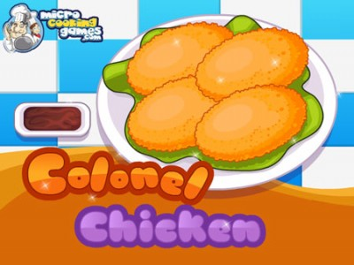 game - Colonel chicken