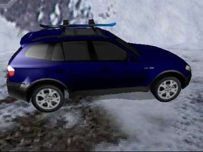 game - Ice road BMW X3