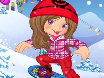 game - Snowboarder Girl