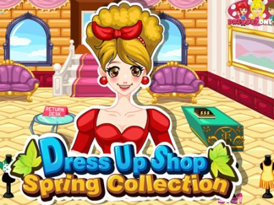 game - Dress Up Shop Spring Collection