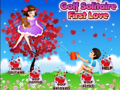 game - Golf Solitaire First Love