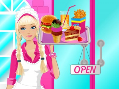 game - Barbie Fun Cafe