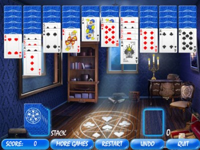 game - Magic Room Solitaire