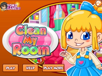 game - Clean my room