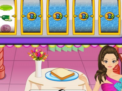 game - Barbie Sandwich Shop